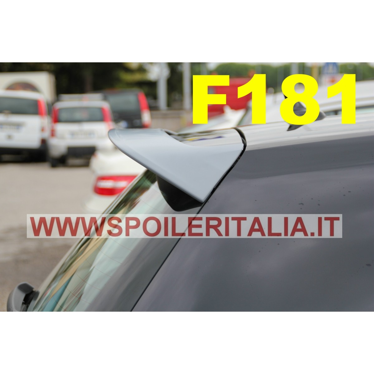spoiler alettone posteriore golf 7 f181p e con primer assetto sportivo golf 7 vii volkswagen. Black Bedroom Furniture Sets. Home Design Ideas