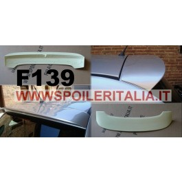 SPOILER ALETTONE FIAT  500   TIPO SPORT GREZZO F139G E