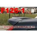SPOILER ALETTONE  ST LOOK  FORD  FIESTA 6  3 PORTE  GREZZO F126-1GE