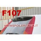 SPOILER ALETTONE FIAT PUNTO  GREZZO  3 PORTE HGT LOOK  F107GKE  CON COLLANTE