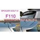 SPOILER ALETTONE POSTERIORE GOLF 4  F110P E  CON PRIMER
