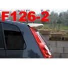 SPOILER ALETTONE  ST LOOK  FORD  FIESTA 6 5 PORTE  GREZZO F126-2GE