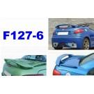 SPOILER ALETTONE PEUGEOT 206 CC GREZZO  F127-6GE