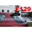 SPOILER ALETTONE  PEUGEOT 207 CON PRIMER  F129P E