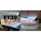 SPOILER ALETTONE FIAT  500   TIPO SPORT  CON PRIMER  F139P E