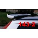 SPOILER ALETTONE FIAT PUNTO 3 P0RTE  GREZZO F143-2G E  REGOLABILE