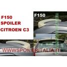 SPOILER ALETTONE  CITROEN C3  GREZZO F150G E