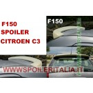 SPOILER ALETTONE  CITROEN C3  CON PRIMER  F150P E