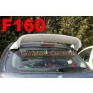 SPOILER ALETTONE  PEUGEOT 207  CON PRIMER  REGOLABILE  F160P E