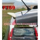 SPOILER ALETTONE FIAT  PANDA FINO 2012 GREZZO F169GKE  CON COLLANTE