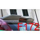 SPOILER ALETTONE FIAT GRANDE  PUNTO E  EVO  ABARTH  LOOK  GREZZO  3 5 PORTE  F172GKE CON COLLANTE BETALINK