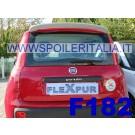 SPOILER ALETTONE FIAT PANDA DOPO  2012 GREZZO  F182G E